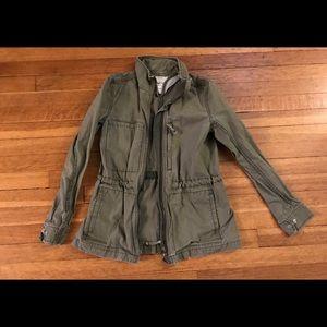 Madewell utility jacket. Green/small